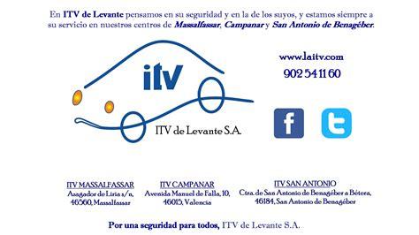 Horario ITV de Levante durante la Festividad de San ...