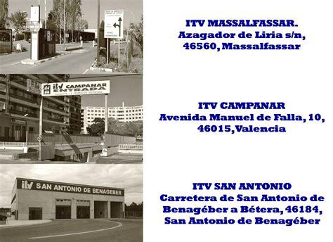 Horario ITV de Levante S.A. durante el próximo día 22 de ...