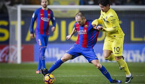 Horario y dónde ver por TV el Barça-Villarreal y el ...