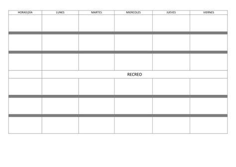 Horarios Calendarios y Memonotas  Orientacion Andujar