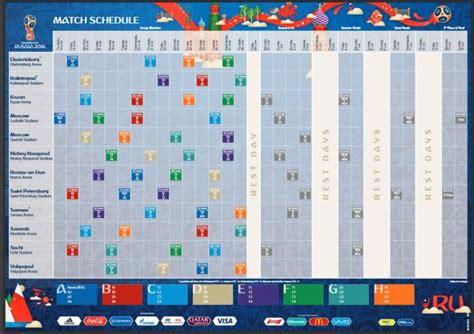 Horarios y calendario del Mundial de Rusia 2018 - AS Colombia