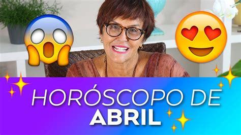 Horóscopo do mês de ABRIL - 2018 por Márcia Fernandes ...