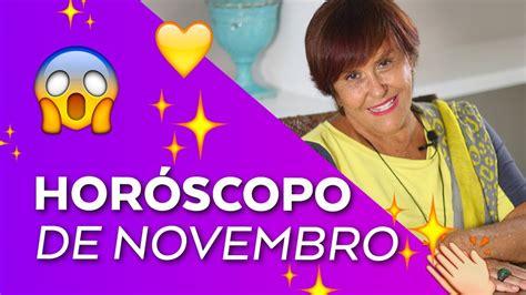 Horóscopo do mês de NOVEMBRO - 2017 por Márcia Fernandes ...