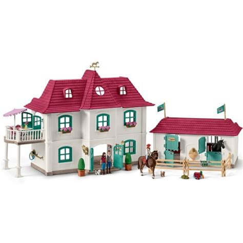 Horse Club Large Stable Playset   Schleich 42416   from ...