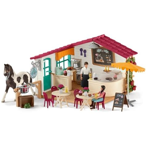 Horse Club Riders Cafe   Schleich 42417   from who what why