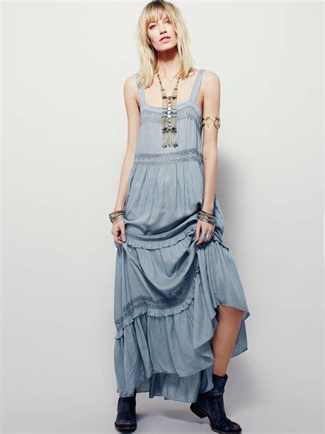 Hot new women dresses crocheted cotton maxi long dress ...