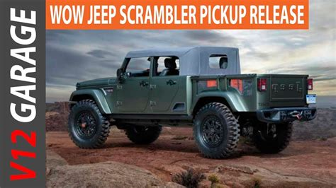 HOT NEWS 2018 Jeep Scrambler Pickup Rumors and MSRP   YouTube