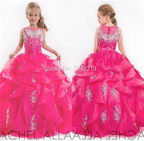 Hot Sale 2017 Cute Glitz Little Girls Pageant Dresses ...