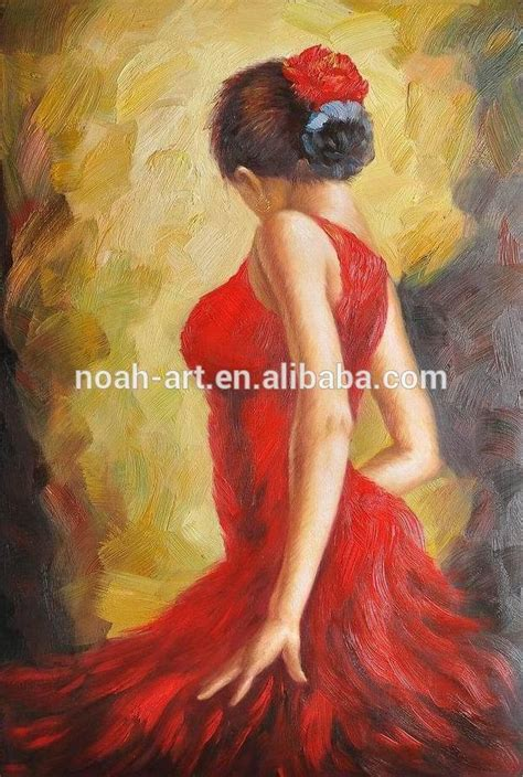 Hot selling spanish dancer Oil Paintings To Copy, View Oil ...