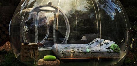 Hotel Attrap Rêves, la experiencia de dormir en una burbuja