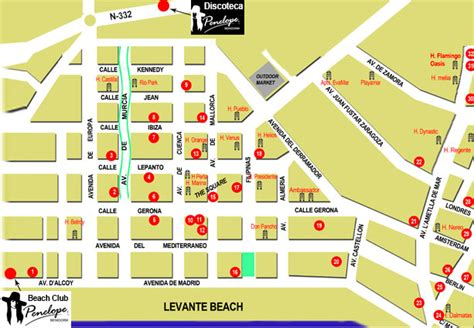 Hotels near the English Square.   Benidorm Forum   TripAdvisor