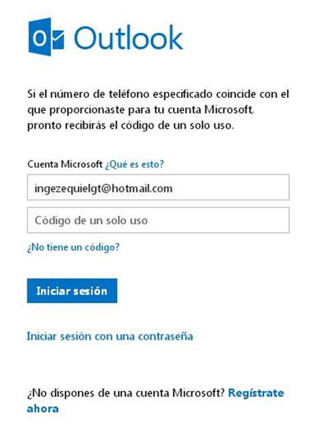 Hotmail Correo Electrónico © Hotmail Iniciar Sesión | OUTLOOK