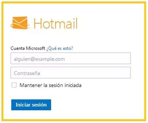 hotmail correo electronico