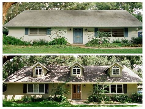House remodel pictures before and after, ranch home ...