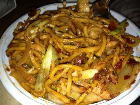 House special lo mein, made it hot and spicy! | Yelp