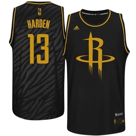 houston rockets black and gold jersey for cheap
