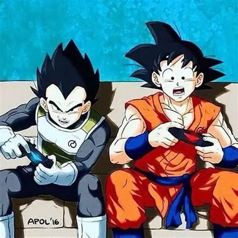 How are Goku and Vegeta brothers?   Quora