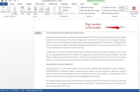 How Do I Insert Page Numbers In Excel 2013 - word 2010 ...