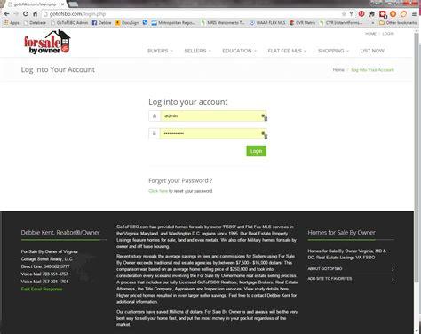 How Do I Log Into My FSBO Account? | GoToFSBO.com