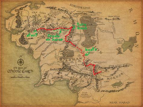 How far did Frodo & Sam actually walk? (Part 2) : geek