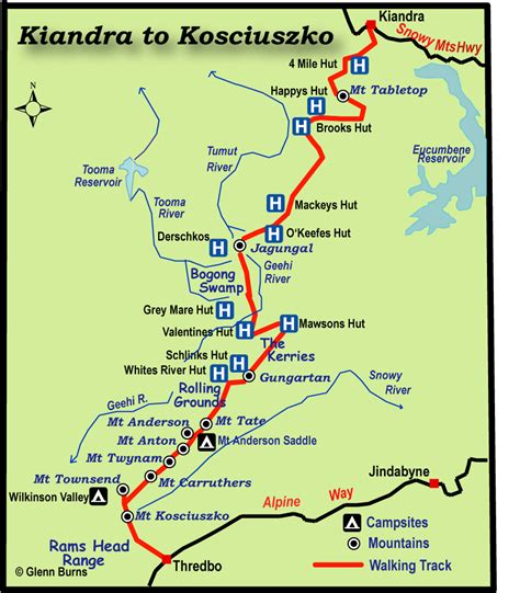 How Far Did I Walk Map Australia