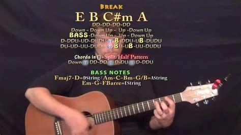 How Far I'll Go (Alessia Cara) Guitar Lesson Chord Chart ...