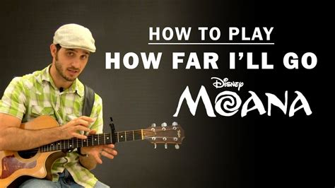 How Far I'll Go (Disney Moana) | How To Play | Beginner ...