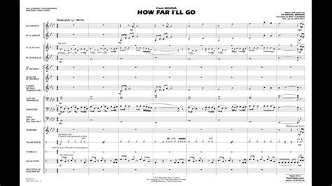 How Far I'll Go (from Moana) by Lin-Manuel Miranda/arr ...