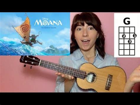 How Far I'll Go Moana (Ukulele Tutorial) Chords - Chordify