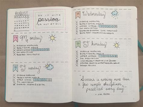 How I Use a Bullet Journal as an #SAPro