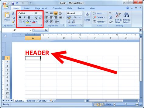 How to Add a Header or Footer in Excel 2007: 6 Steps
