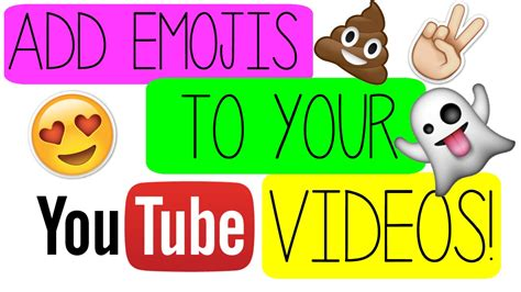 How to add Emojis to videos  iMovie    YouTube