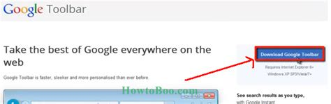 how to add/install google toolbar in Internet explorer 8/9 ...
