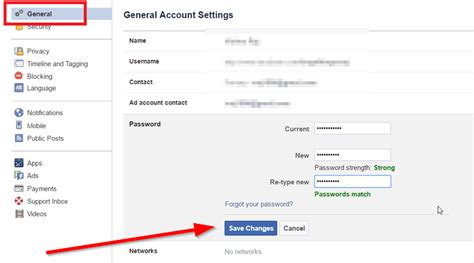 How to Change Facebook Password - Waftr.coM