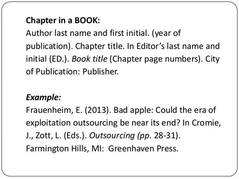 How To Cite A Book Page Number In Apa Gallery - How To ...