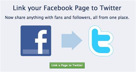 How to Connect Facebook To Twitter | Ponder Consulting ...