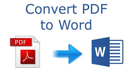 How to convert PDF to Word 2016 tutorial - YouTube