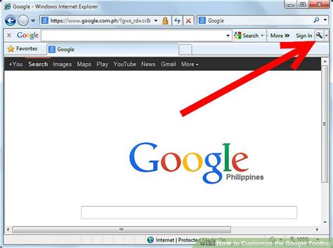 How to Customize the Google Toolbar: 10 Steps  with Pictures