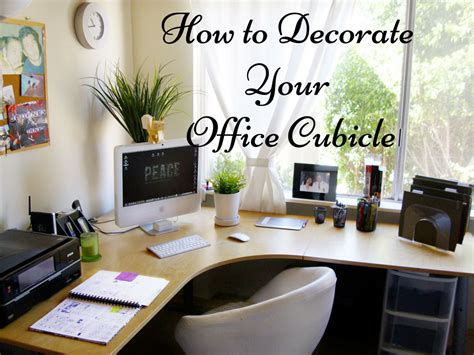 How To Decorate Your Office Cubicle   To Stand Out in the ...