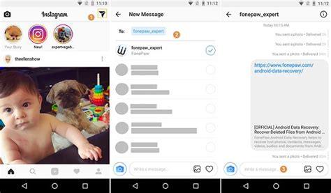 How to Direct Message on Instagram from Phone/PC