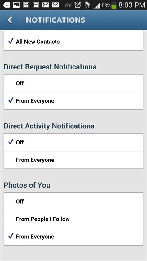 How to Disable Instagram Direct Message Notifications ...