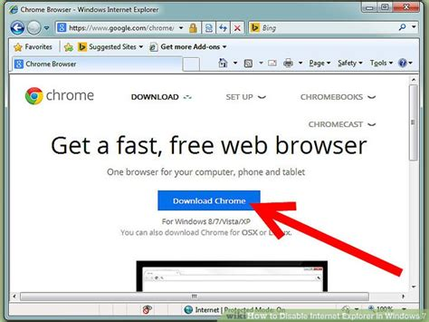 How to Disable Internet Explorer in Windows 7: 10 Steps