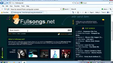 How to download songs from internet. (Easy and quick ...