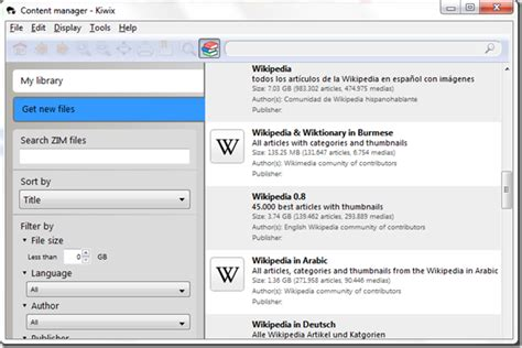 How to Download Wikipedia to desktop