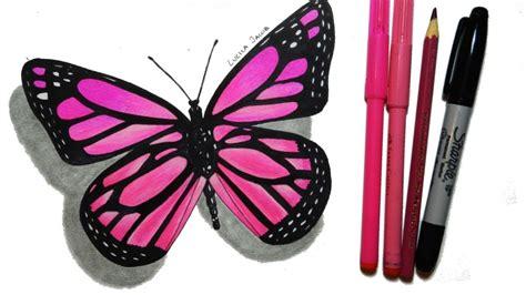 How To Draw a Butterfly (Step by Step) | Cómo Dibujar una ...