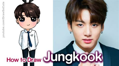 How to Draw Jungkook | BTS - YouTube