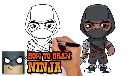 How to Draw Ninja | Fortnite (Art Tutorial) - YouTube