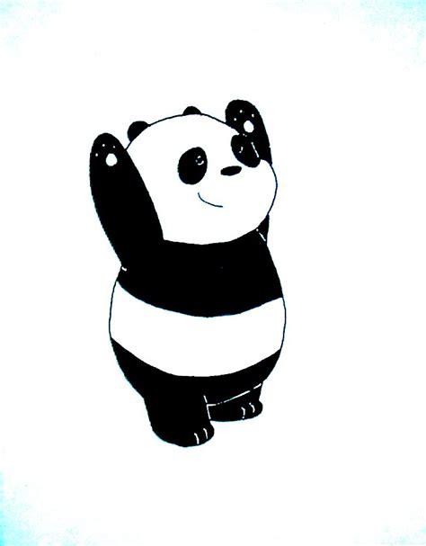 how to draw panda bear, como desenhar panda, como dibujar ...
