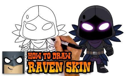 How to Draw Raven | Fortnite (Art Tutorial) - YouTube