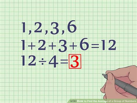 How to Find the Average of a Group of Numbers: 6 Steps
